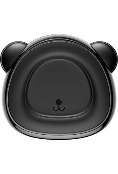 Baseus Bear Manyetik Mıknatıslı Araç Telefon Tutucu Siyah