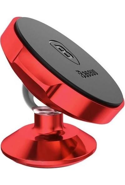 Baseus Small Ears Kırmızı Evrensel Araç Tutucu