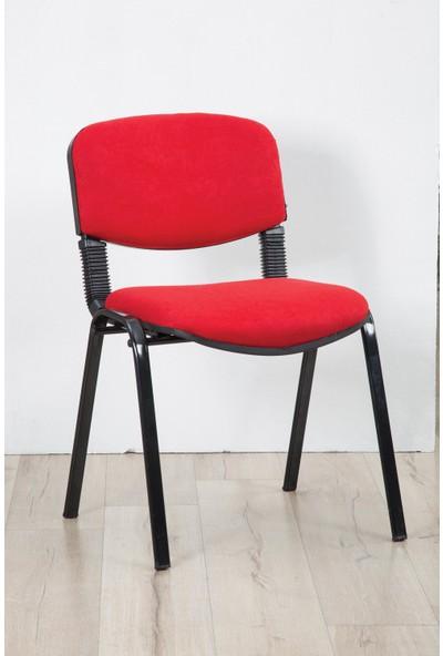 Tetpa Form Sandalye Bekleme Sandalyesi Kırmızı