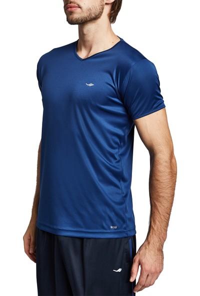Lescon 19S-1221-19B Mavi Erkek Kısa Kollu Tişört