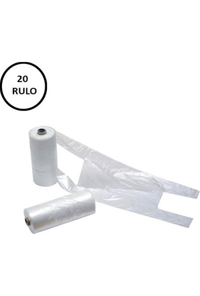 Naksan Rulo Poşet Küçük Boy 20 Rulo (Rulo 200' lü)