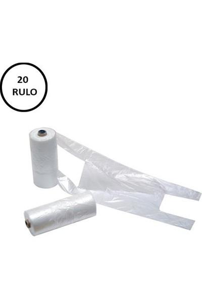 Naksan Rulo Poşet Büyük Boy 20 Rulo (Rulo 200' lü)