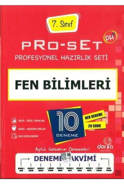 Dorya Yayınları7.Sınıf Fen Bilimleri Pro-Set 10 Deneme