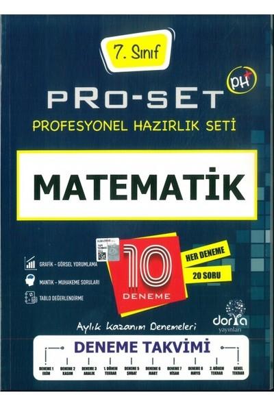 Dorya Yayınları 7.Sınıf Matematik Pro-Test 10 Deneme