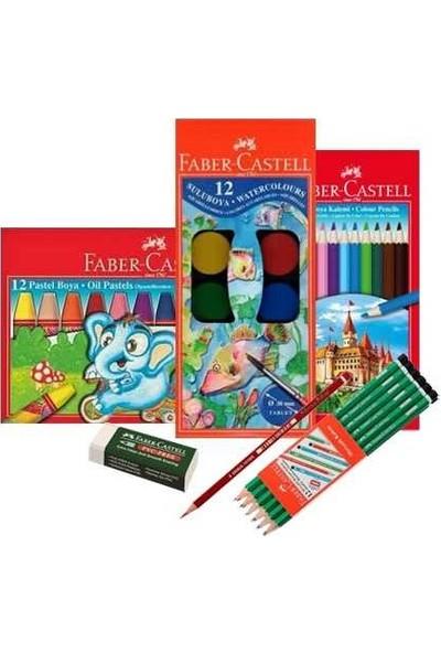 Faber Castell Okul Seti 17 Parça