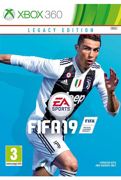 EA Xbox 360 Fifa 19 Legacy Edition