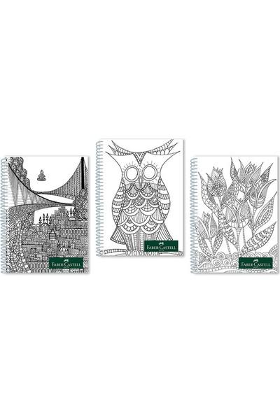 Faber-Castell Style Pp Kapak Spiralli Defter 100 Yaprak Çizgisiz