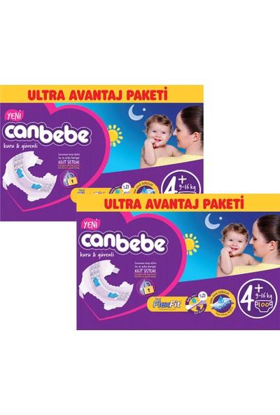 Canbebe Bebek Bezi Online Özel Paket 4+ Beden 100 Adet 2'Li Set