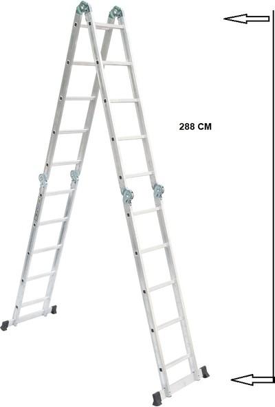 Beykon 6 Metre Çok Amaçlı Katlanır Akrobat Merdiven