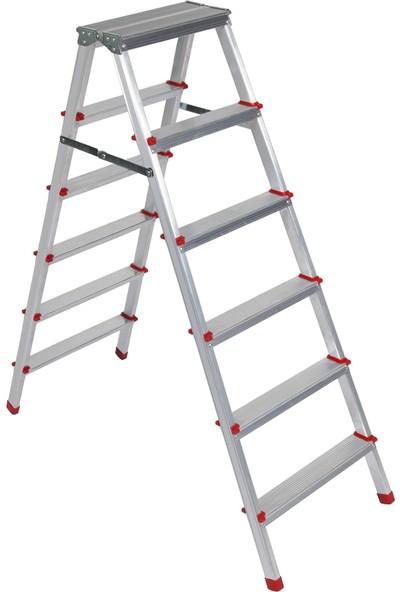 Beykon 5+5 Çok Amaçlı Alüminyum Çift Çıkışlı Merdiven