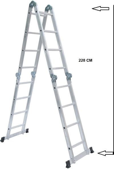 Beykon 4.70 Katlanır Akrobat Merdiven