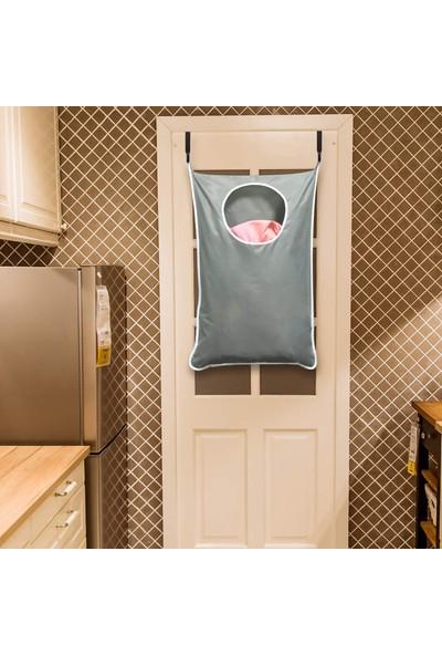 Bundera Doorbag Kirli Çamaşır Sepeti Filesi Katlanabilir Oyuncak Hurcu Kapı Arkası Sepet File