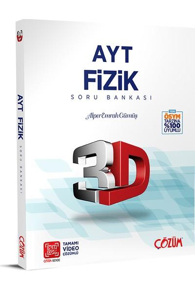 Çözüm Yayınları AYT 3D Fizik Soru Bankası - Alper Emrah Gümüş