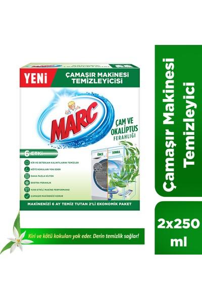 Marc Çamaşır Makinesi Temizleyicisi Çam ve Okaliptus Ferahlığı 2x250 ml