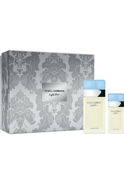Dolce Gabbana Light Blue Femme Edt 100 Ml + Edt 25 Ml