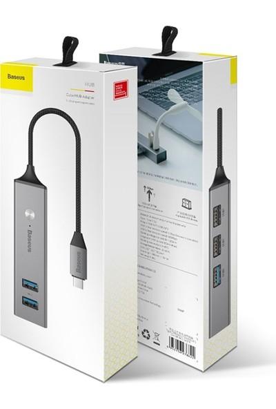 Baseus Cube Type-C to USB 3.0+USB 2.0 HUB USB Çoklayıcı