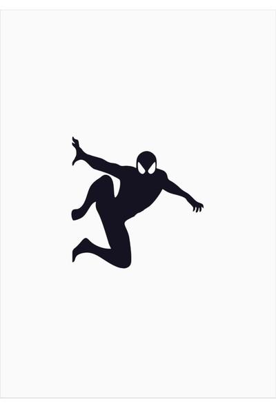 Başaran Sticker Spiderman Priz Sticker 10 x 10