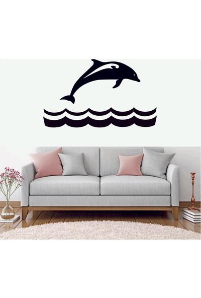 Başaran Sticker Yunus Balığı Dekoratif Duvar Sticker
