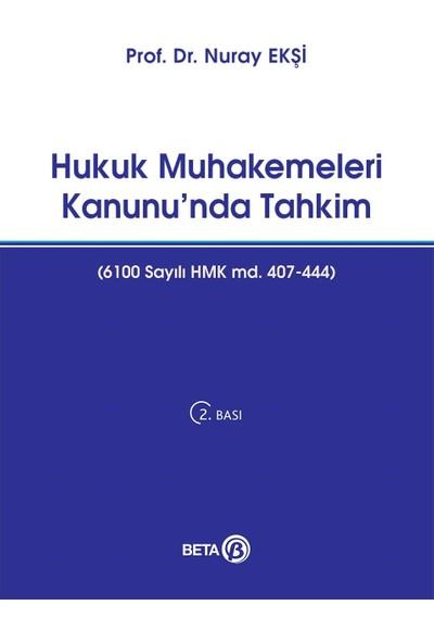 Hukuk Muhakemeleri Kanunu'Nda Tahkim-Nuray Ekşi