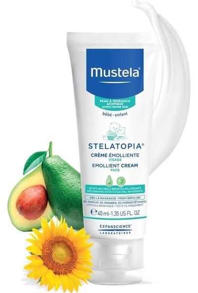 Mustela Stelatopia Emollient Çok Kuru Cilt İçin Yumuşatıcı Yüz Kremi 40 ml