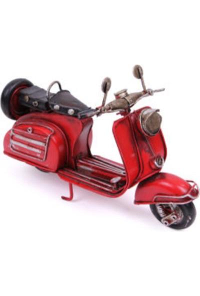 Mnk Dekoratif Metal Scooter