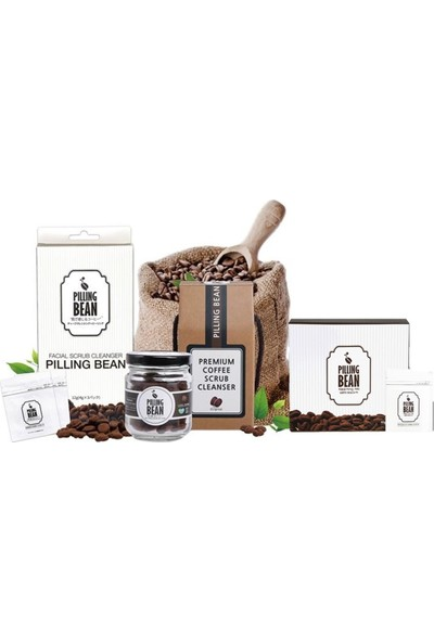 Pilling Bean – Kahve Peelingi 10lu Paket(40 Adet Çekirdek - 3 Aylık)