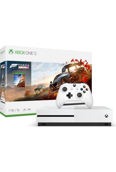Microsoft Xbox One S 1 TB Oyun Konsolu Forza Horizon 4 234-00561