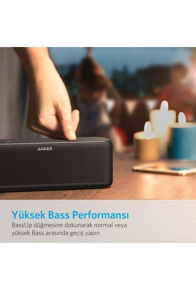 Anker SoundCore Boost 20W Kablosuz Bluetooth Hoparlör BassUp-12 Saat Çalma Süresi -IPX5 Suya Dayanıklılık - Siyah - A3145011-ONP