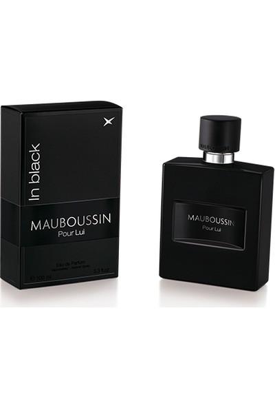 Mauboussin Pour Lui In Black Natural Spray Edp 100Ml Erkek Parfümü
