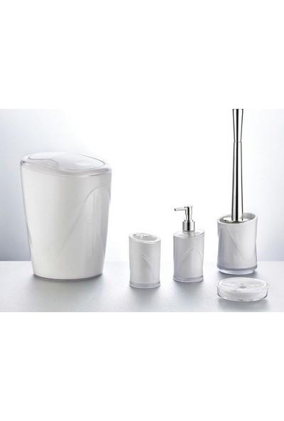 Hiper Beyaz 5 Parça Banyo Seti