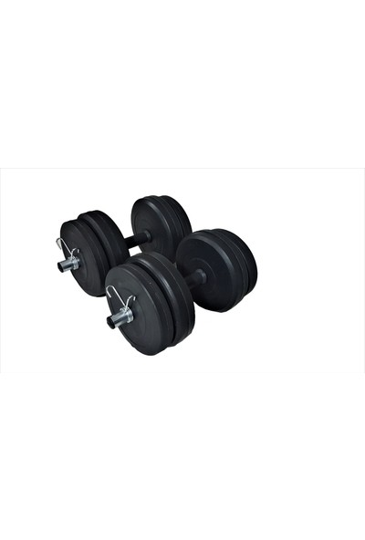 Powerbull 30 Kg Dumbell Set Vücut Geliştirme Ağırlık Dambıl Seti Fitness Spor Aleti