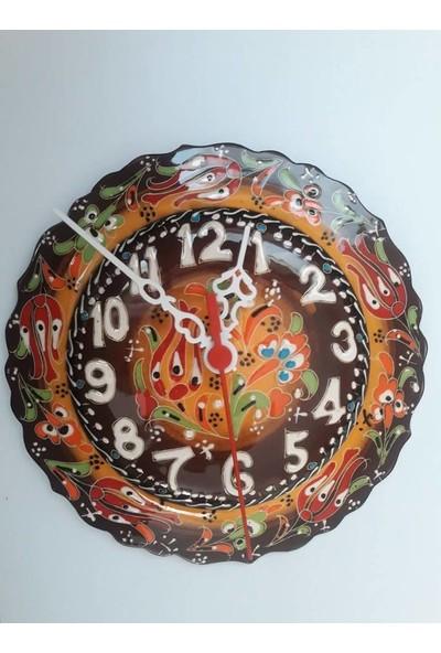 Fon Hediyelik El İşi Dekoratif Duvar Saati