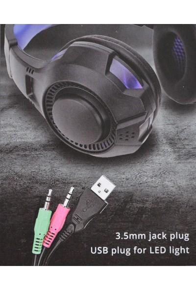 Piranha 2145 Kablolu Oyuncu Kulaklık Gaming Headset
