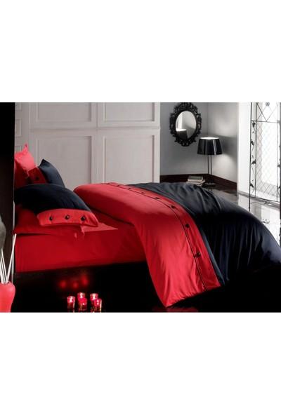 Cotton Box Çift Kişilik Saten Nevresim Takımı - Fashion Kırmızı