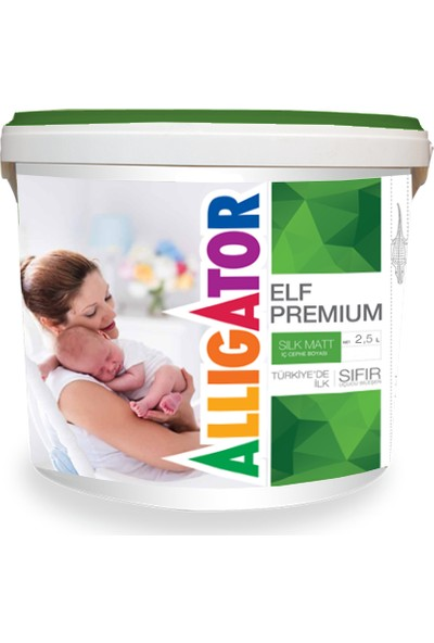 Allıgator Elf premium Sılk Matt 2.5 L