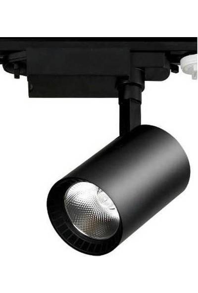 Oviled Ledli Ray Spot 30 Watt +360 Derece Hareketli+ Siyah Kasa Günışığı