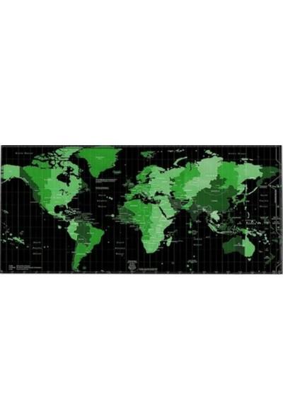 Appa Dünya 2 World Oyuncu Mouse Pad 70 x 30 cm Kaymaz Dikişli
