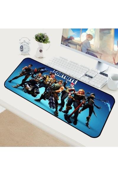 Appa Fortnite 5 Oyuncu Mouse Pad 70 x 30 cm Kaymaz Dikişli Mousepad