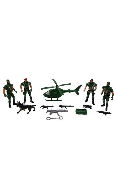 Bircan Oyuncak Asker Seti 22 Parça