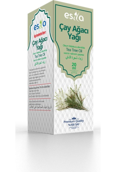 Esila Çay Ağacı Yağı 20ml