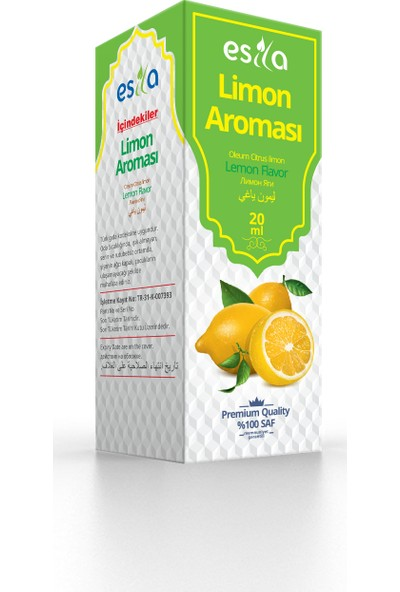 Esila Limon Aroması 20ml
