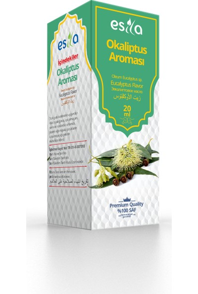 Esila Okaliptus Aroması 20ml