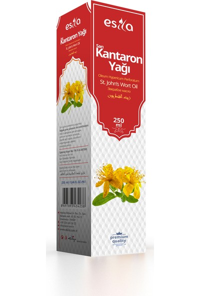 Esila Kantaron Yağı 250 ml