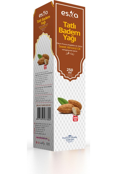 Esila Tatlı Badem Yağı 250 ml