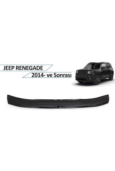 Cappafe Jeep Renegade Ön Kaput Koruyucu 2014 ve Sonrası