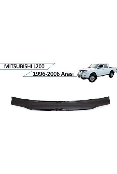 Cappafe Mitsubishi L200 Ön Kaput Rüzgarlığı 1996-2006