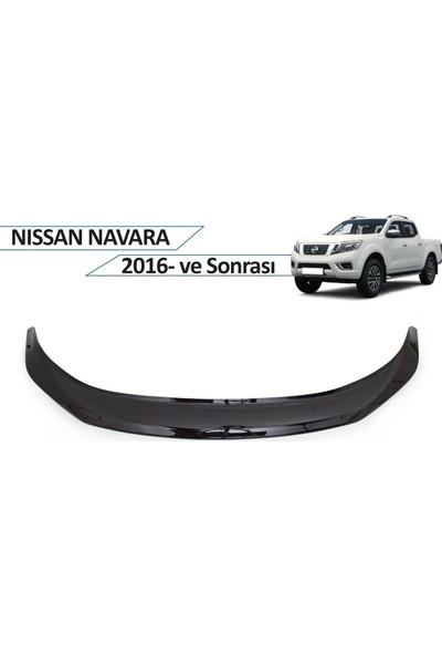 Cappafe Nissan Navara Ön Kaput Koruyucu 2016 ve Sonrası