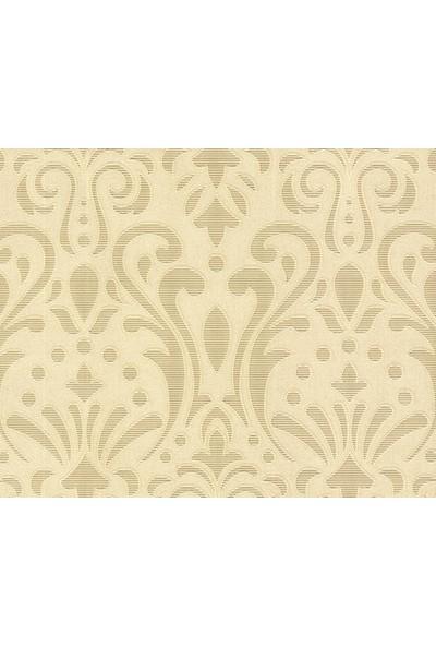 HannAtelier markası Altın/Gold Damask Desenli Duvar Kağıdı