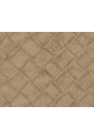 HannAtelier markası Baklava Desen Haki Duvar Kağıdı