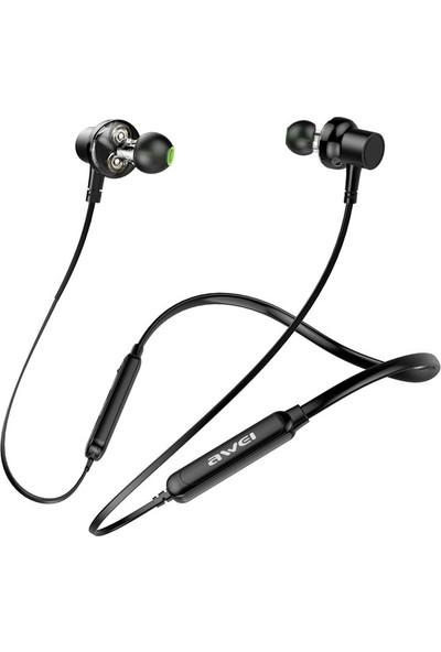 Awei G20BL Dual Driver Bluetooth V4.2 Mikrofonlu Kulaklık